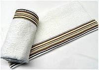 Махровое полотенце 70х130 Arya Gizem белый