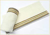Махровое полотенце 70х130 Arya Gizem кремовое