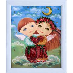 "Рисунок на ткани ""Ангелочки влюблены"" 962 Butterfly"