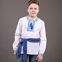 Красивая рубашка-вышиванка для мальчика, фото 1