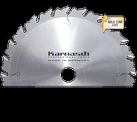 Пильный диск для чернового распила и раскроя дривесины Ф=350x 3,5/2,5x 30mm  24 WZA, Karnasch (Германия)