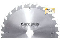 Пильный диск для чернового распила и раскроя дривесины Ф=500x 4,4/2,8x 30mm 44 WZA, Karnasch (Германия)
