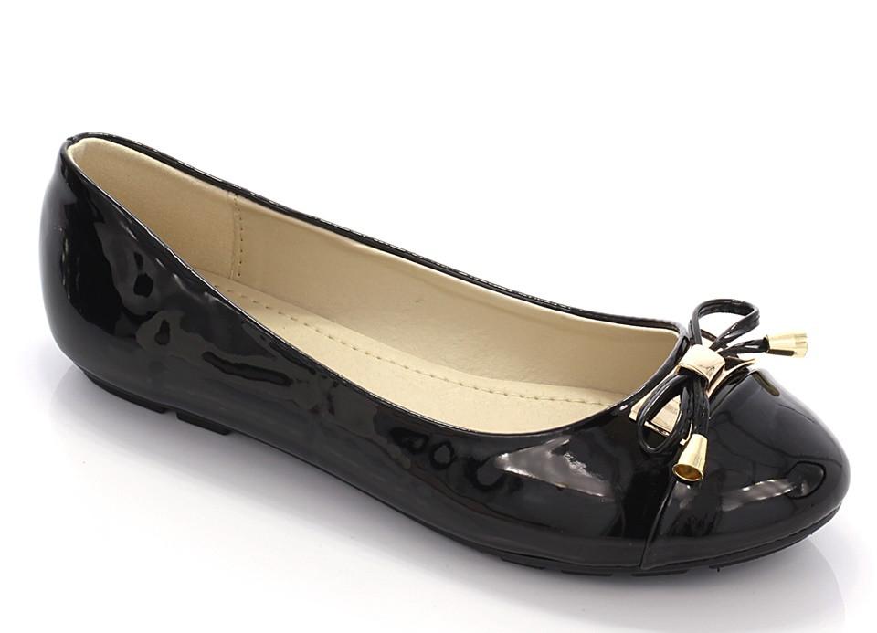 Женские балетки Vista black