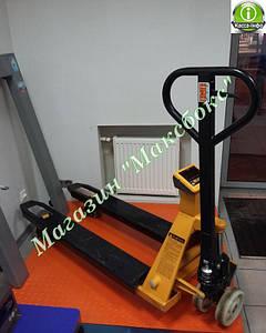 Рокла с весами до 1000 кг ЗЕВС ВПЕ-1000-4 (Н1208) A12PL