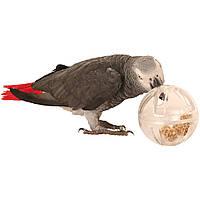 """Игрушка для большого попугая шар """" буфет """" для попугая 13см"""