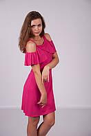 Жіноче сукня 17524 малинова ( Женское платье 17524 мальновое)