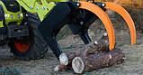 Грейфер (захват) для леса, дерева и бревен для погрузчиков, фото 2