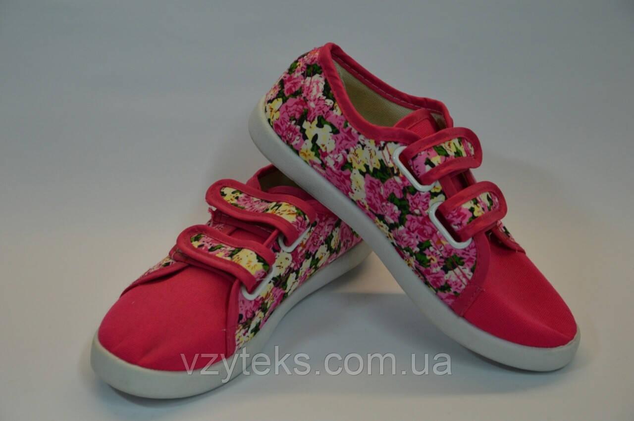 Мокасины детские цветочек, фото 1