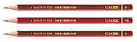 Набор карандашей разной твердости чернографитных Е11303 Economix