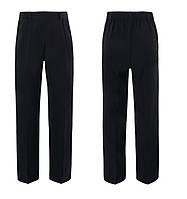 Школьные брюки темно-синие на высоких мальчиков 7-8 лет George (Англия)
