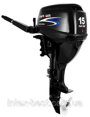Подвесной лодочный мотор Parsun F15, фото 2