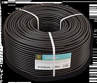 BRADAS Шланг технический BLACK 5 х 2мм, 20bar