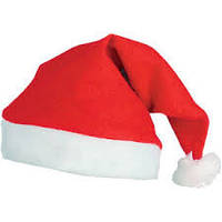 Шапка Санта Клауса , Шапка деда мороза новогодняя