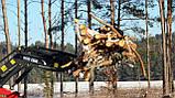"""Вилы захват для бревен, погрузки леса """"Краб"""" к фронтальному погрузчику, фото 2"""
