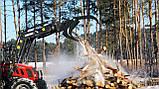 """Вилы захват для бревен, погрузки леса """"Краб"""" к фронтальному погрузчику, фото 3"""