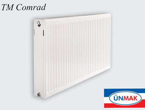 Сталеві панельні радіатори з боковим підключенням Comrad 22 1800*500