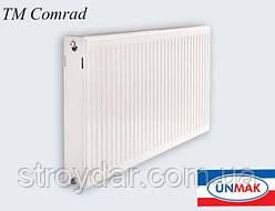 Cтальные панельные радиаторы с боковым подключением Comrad 22 400*500