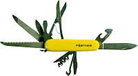 Нож PARTNER HSQ05012PH 12 предм. ц:жёлтый