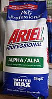 Стиральный порошок Ariel Professional Alpha White Max 15 кг