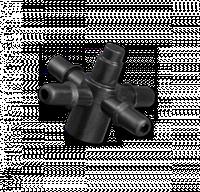 Адаптер-крестовина к трубке 5мм