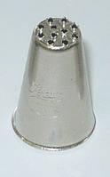 Наконечник кондитерский: травка (рисунок в виде множества точек,диам. каждой точки 1,5 мм), h=25мм 4030073/133