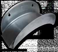 Держатель для шланга, настенный, металлический