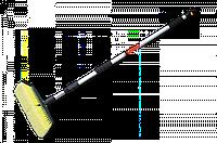 Щетка автомобильная, телескопическая ручка 170см, с переключателем