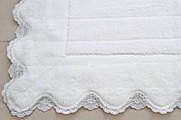 Коврик-полотенце для ног Gül Güler Defne White