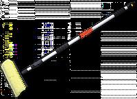 Щетка автомобильная, телескопическая ручка 250см, с переключателем
