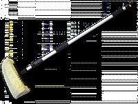 Щетка автомобильная, телескопическая ручка 250см, з краном, 4 уровня густоты щетины