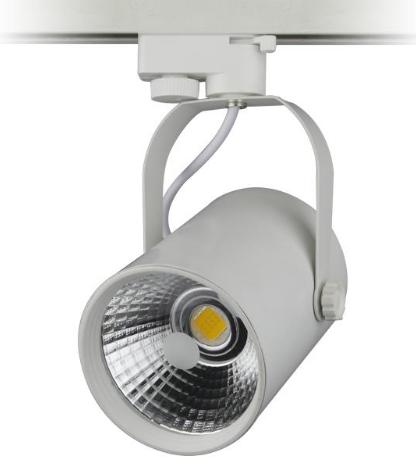 Трековый светодиодный светильник KD-D12-WH 12W