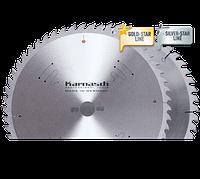 Пильные диски GOLD-STAR для чистового распила древесины D=350x 3,5/2,5x 30mm 72 WZ Карнаш (Германия)