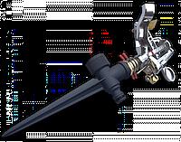 Ороситель на колышке пульсирующий METAL CHROM