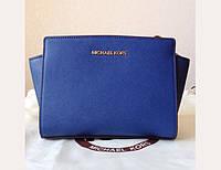 Клатч - сумка Michael Kors Selma (3233) (blue)