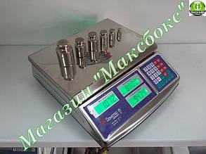 Весы торговые Domotec DT-50 кг металлические