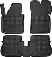 Полиуретановые коврики в салон Volkswagen Caddy III 2013- (4 дв.) (AVTO-GUMM)
