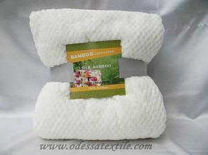 Плед Koloco Silk Bamboo молочний