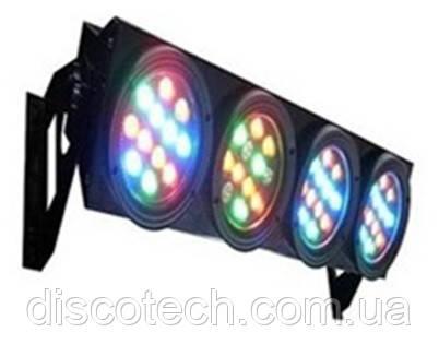 Световой LED прибор YC-3001-4B LED RGBW blinder 4 eyes