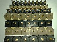 Набойки полиуретановые женские со штырьком полукруглые 13*13,5мм.  ArchiTAK (АРЧИТАК) Италия, беж.