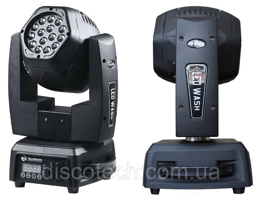 Двусторонняя LED Голова YR-680E-II beam  3W*15 шт * 2 стороны  RGB