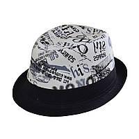 Шляпа челентанка  серая Чикаго