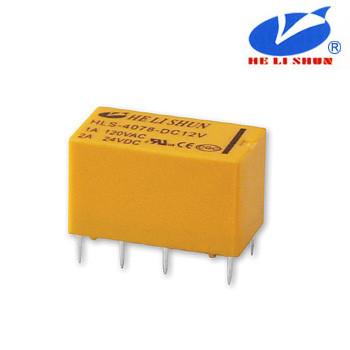HLS-4078 РЕЛЕ (12VDC) струм-2A / контакти-2С