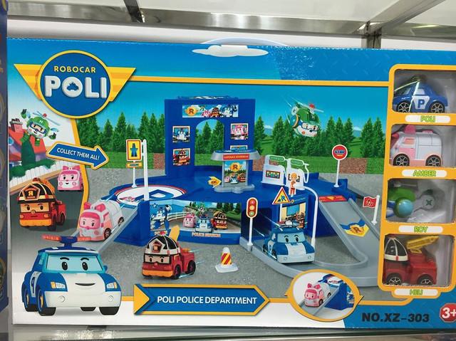 Поли робокар с гаражом купить игрушки металлический гараж чебоксары на вывоз купить