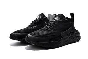 Кроссовки Nike Huarache Run Ultra Breeze (All Black), фото 2