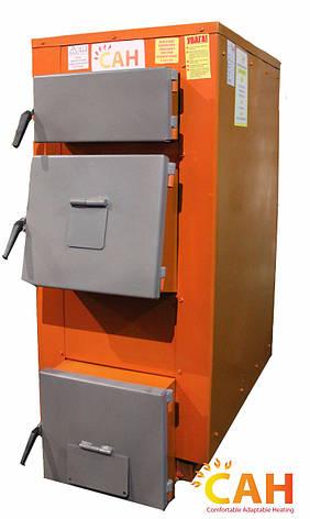 САН Эко-У 17 (Усиленный сталь 4мм) котел под твердое топливо мощностью 17 кВт, фото 2