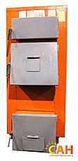 Твердотопливный котел с механической автоматикой САН Эко-У-М 17 (Усиленный сталь 4мм), фото 3