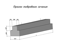 Прогоны ПРГ 60.2.5-4т (5980-200-500)