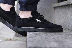 Кроссовки Puma Suede 'Triple Black'