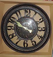 Настенные часы винтажные под старину. Диаметр 40 см.