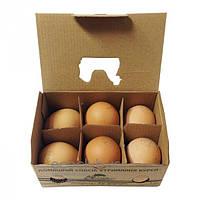 Яйца куриные домашние СвитБио 6 шт.